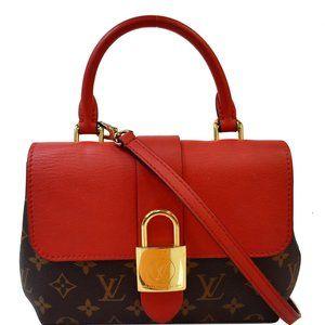 Louis Vuitton Locky Red Monogram Canvas Cross Body